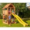 Fungoo FORTRESS детска площадка с пързалка