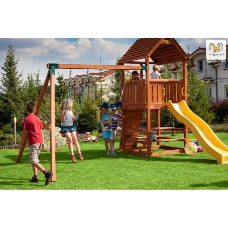 Fungoo JOY+MOVE+STEP ON+FREE TIME детска площадка