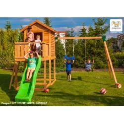 Fungoo MyHouse+Move+ детска площадка