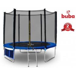 Buba Детски батут 10FT (305 cm) с мрежа и стълба