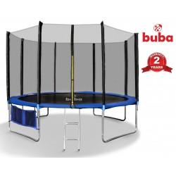 Buba Детски батут 12FT (366 cm) с мрежа и стълба