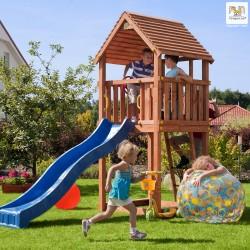 Fungoo JUNIOR детска площадка с пързалка