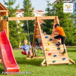 Fungoo SPIDER+ люлка, мрежа и стена за катерене