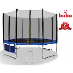 Батут с мрежа Buba 14FT (427см), Джоб за обувки и стълба