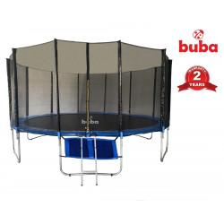 Батут с мрежа Buba 16FT (488см), Джоб за обувки и стълба